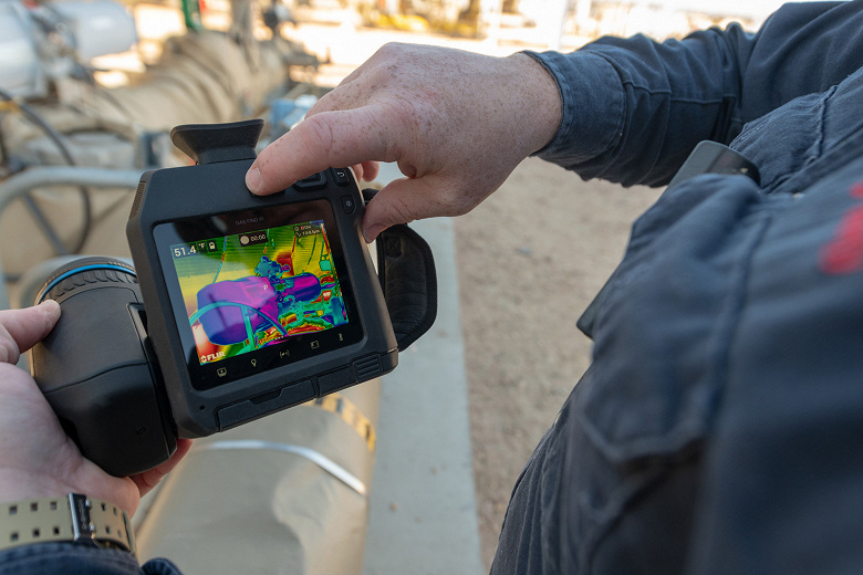 FLIR выпускает свою первую неохлаждаемую камеру для обнаружения метана