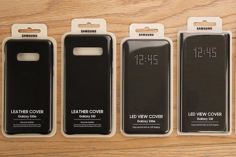 Видео дня: фирменные чехлы Samsung для смартфонов Galaxy S10, S10+ и S10e вживую