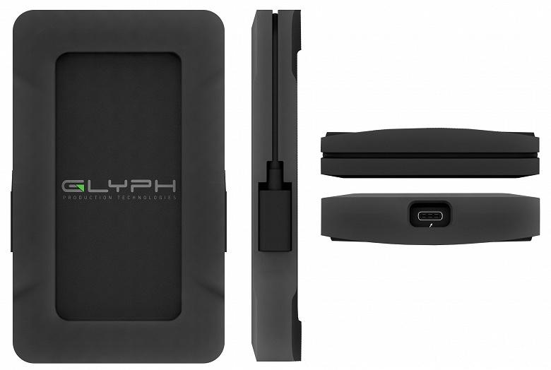 Внешний твердотельный накопитель Glyph Atom Pro объемом 2 ТБ стоит 1000 долларов