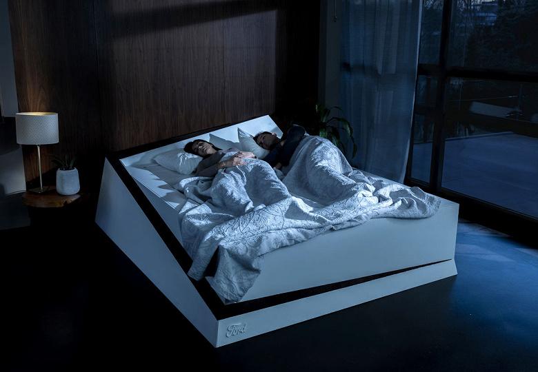 Умная кровать Ford использует автомобильные технологии удержания полосы