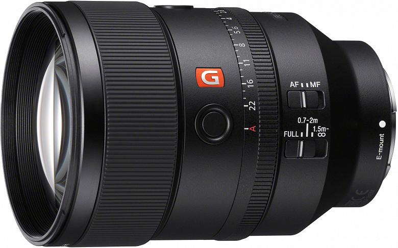 Объектив Sony FE 135mm F1.8 GM оценен в 1900 долларов