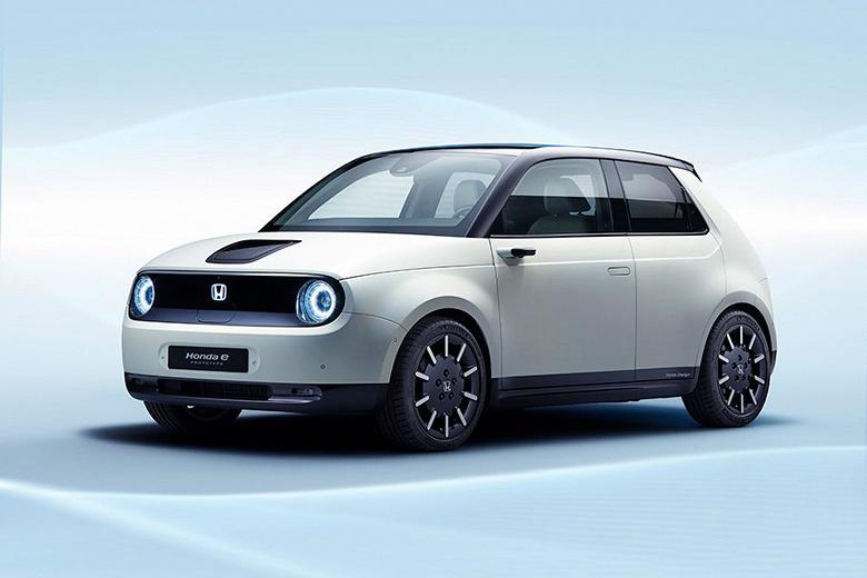Электромобиль Honda e Prototype будет показан на Женевском автосалоне