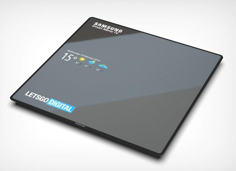 Samsung Smart Mirror TV — умный телевизор, который в выключенном состоянии превращается в зеркало