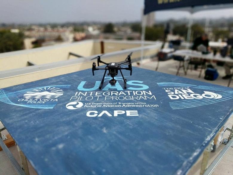 Полицейские дроны показали отличные результаты в рамках пилотных проектов