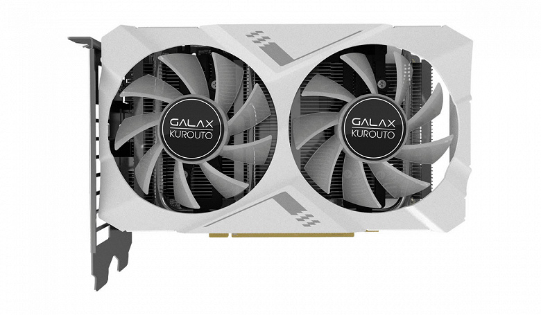 Длина видеокарты Galax GeForce RTX 2070 составляет всего 175 мм