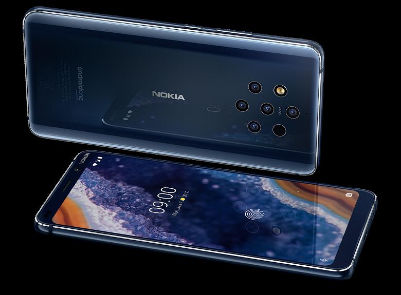 Минус 100 долларов. Смартфон Nokia 9 PureView с пентакамерой изначально будут продавать дешевле