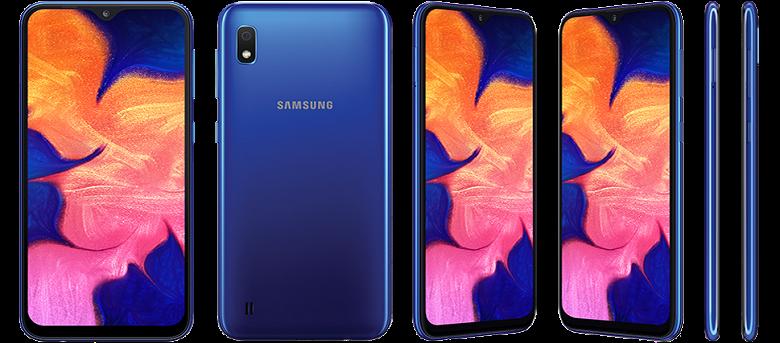 Новый бюджетный класс. Представлен Samsung Galaxy A10 с каплевидным вырезом и ёмким аккумулятором