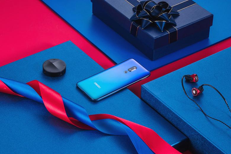 Смартфон Meizu 16th Plus Sound Color Edition получил комплект с «подарками» на 465 долларов