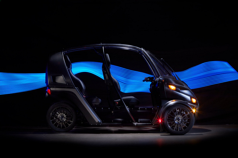Представлен трехколесный электромобиль Arcimoto FUV Evergreen Edition