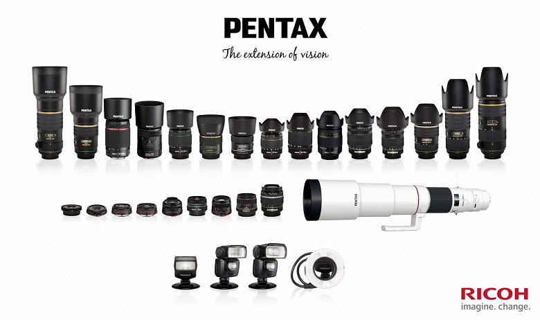 Обновлен график выпуска объективов с креплением Pentax K