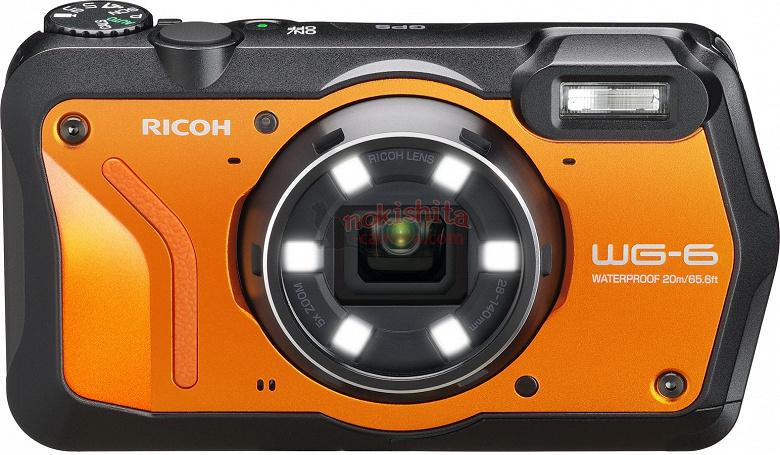 Ricoh очень скоро представит компактные камеры WG-6 и G900