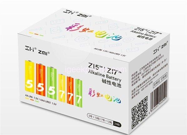 Xiaomi выпустила набор из 24 элементов питания типа АА и ААА, который стоит менее 5 долларов