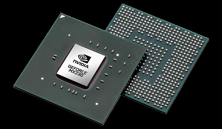 Nvidia представила новые бюджетные мобильные видеокарты GeForce MX250 и MX230