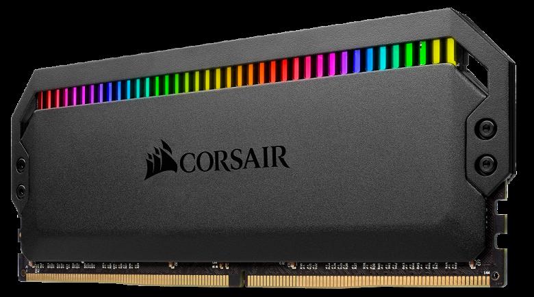 Модули памяти Corsair Dominator Platinum RGB DDR4 украшены подсветкой на светодиодах Capellix