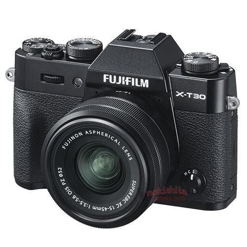 Появились основные спецификации камеры Fujifilm X-T30