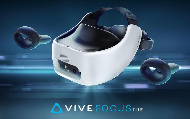 Представлен VR-шлем HTC Vive Focus Plus
