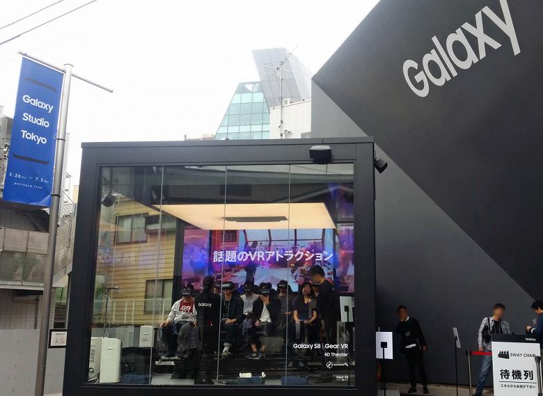 Samsung впечатляет достижениями в Японии