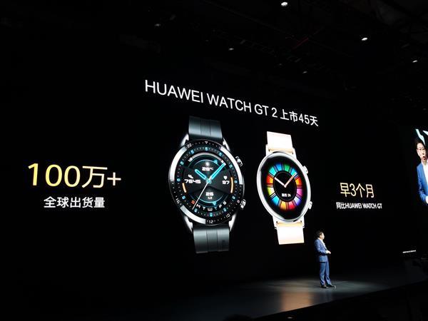 Huawei продала 1 миллион часов Watch GT2 за 45 дней
