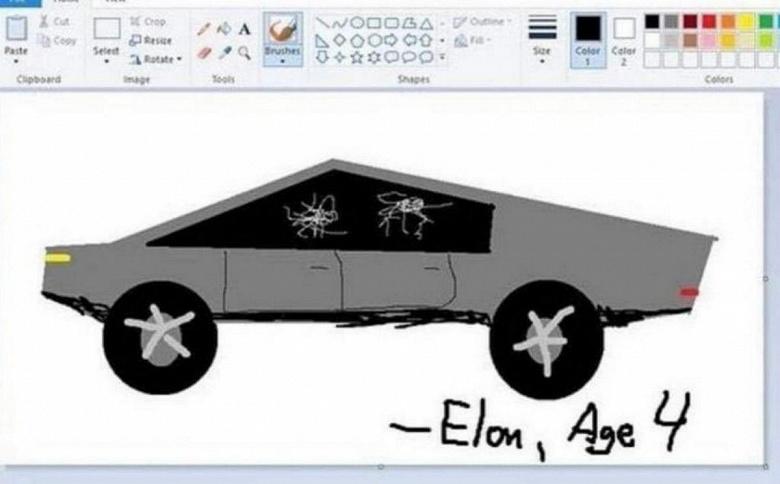 Вот почему Tesla Cybertruck выглядит так странно