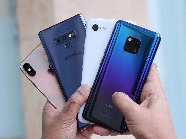 Samsung и Huawei — лидеры, Xiaomi и Apple — на подхвате