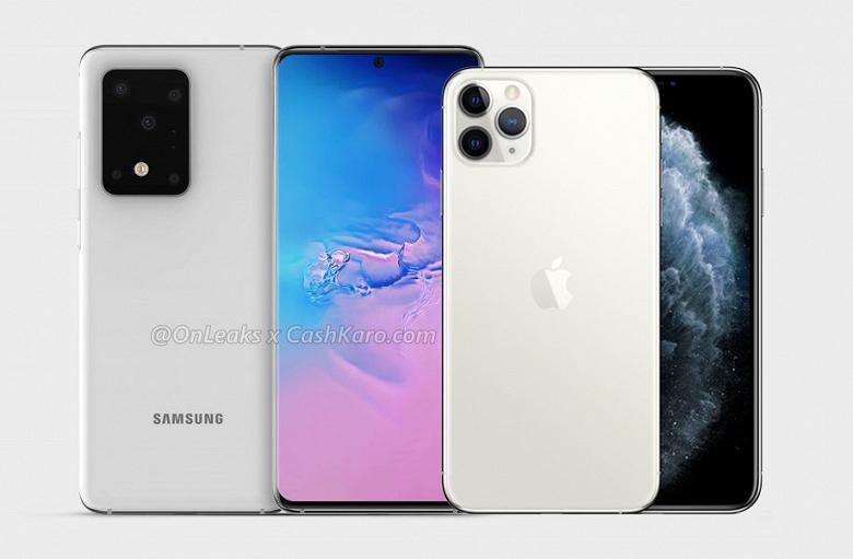 Samsung Galaxy S11+ выглядит монстром рядом с iPhone 11 Pro Max
