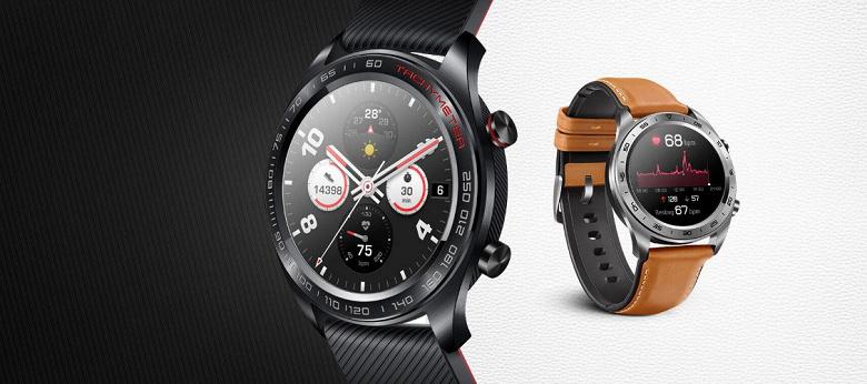 Первый взгляд на умные часы Honor Magic Watch 2