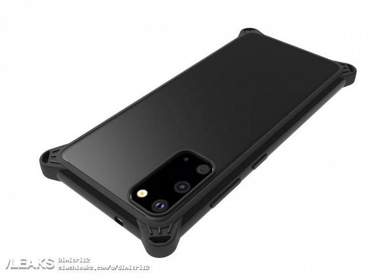 Samsung Galaxy S11e позирует в различных чехлах
