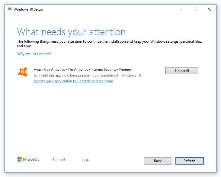 Microsoft снова не даёт пользователям обновить Windows 10