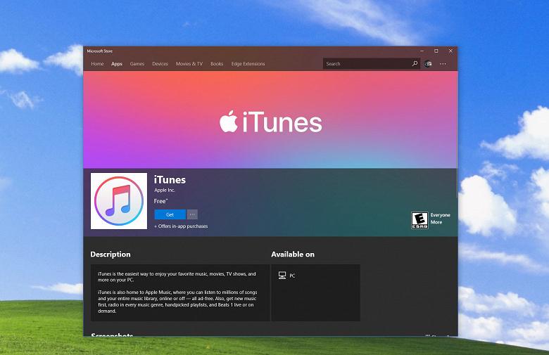 Apple изобретает iTunes для Windows 10 заново