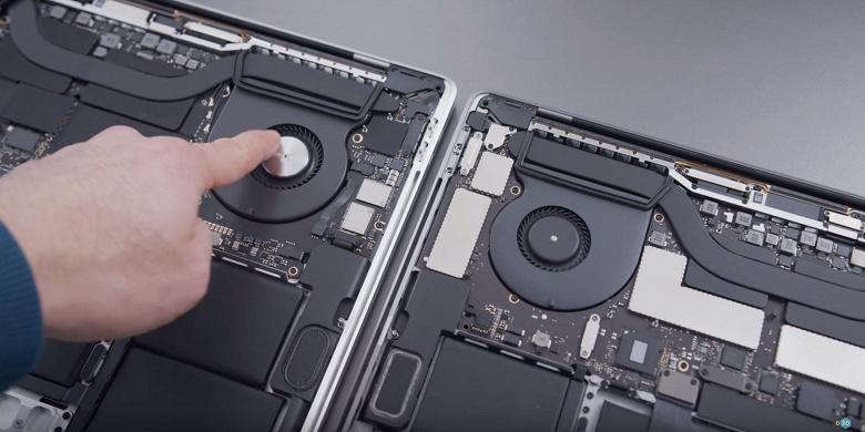 Новый MacBook Pro выжимает все соки из старенького Core i9