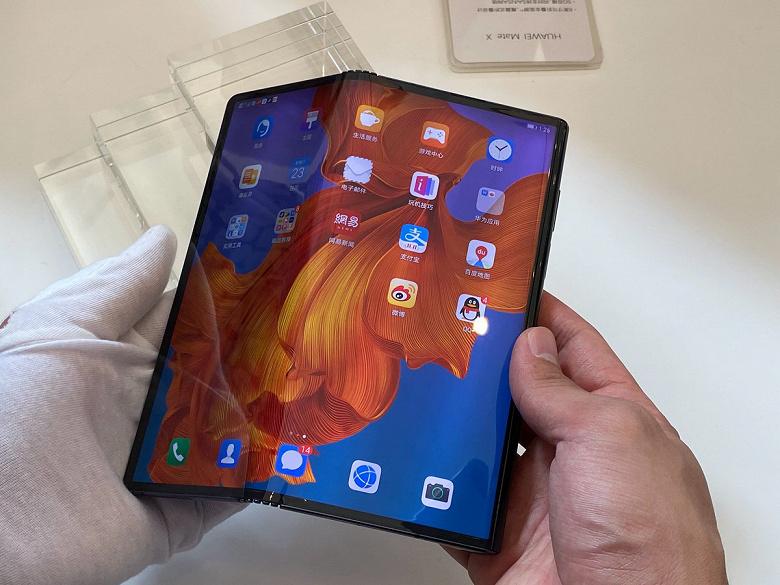 Потенциальный провал года. Выпуск складного смартфона Huawei Mate X с гибким экраном снова отложен
