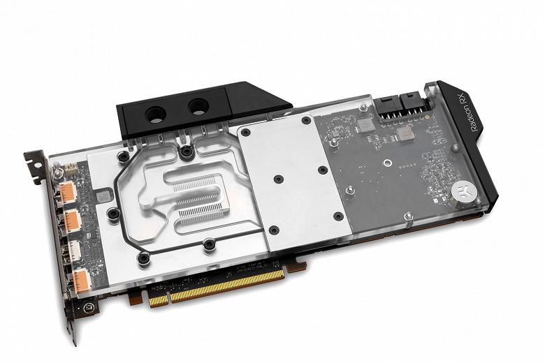 Водоблок EK-Quantum Vector Radeon RX 5700 +XT D-RGB предназначен для референсных видеокарт AMD Radeon RX 5700 и 5700 XT