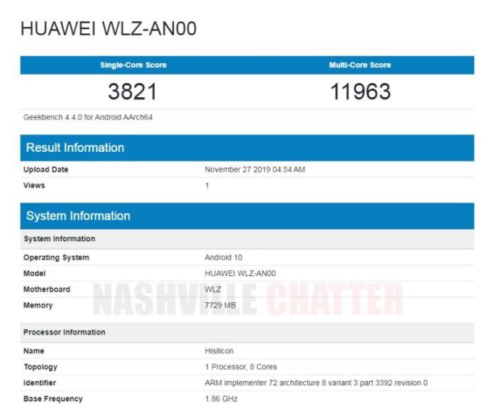 Kirin 990, Android 10 и 8 ГБ ОЗУ. Ключевые характеристики Huawei Nova 6 5G подтверждены