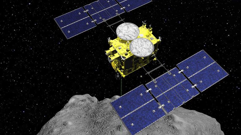 Космический аппарат Hayabusa2, бомбардировавший астероид, возвращается домой