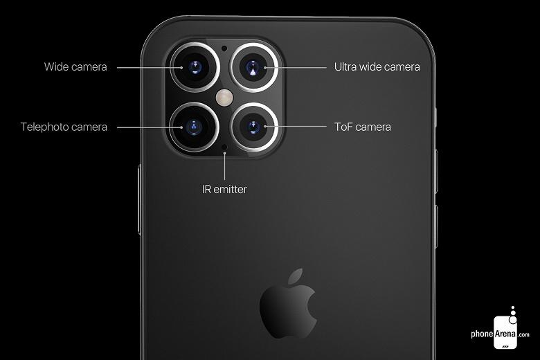 iPhone 12 на качественных рендерах