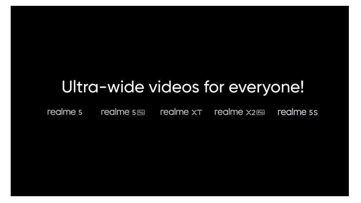 Смартфоны убийцы Xiaomi получили поддержку записи сверхширокоугольного видео