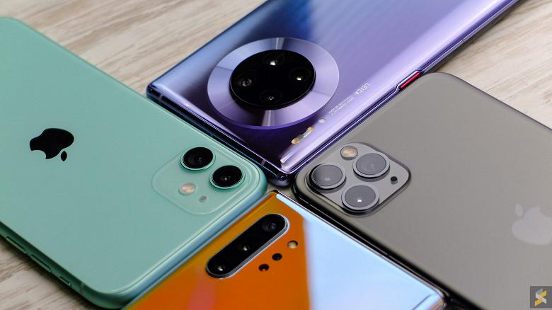 Huawei и Samsung спасли рынок смартфонов