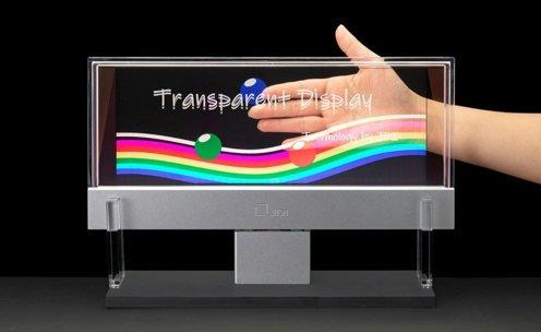 Japan Display скоро покажет прозрачный жидкокристаллический дисплей