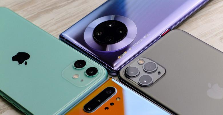 Huawei и Samsung продолжают спасать рынок смартфонов