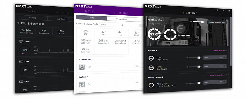 Стала доступна версия 4.0 программного обеспечения NZXT CAM