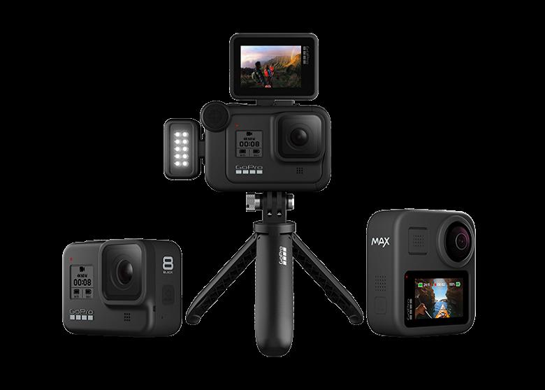 В России стартовали продажи камер GoPro Hero 8 и GoPro Max
