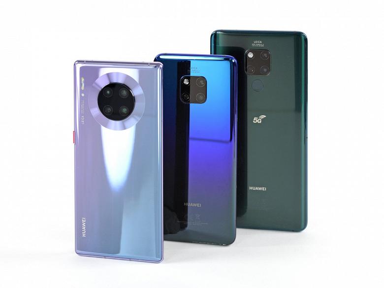 Huawei Mate 30 Pro отремонтировать легче, чем большинство современных смартфонов