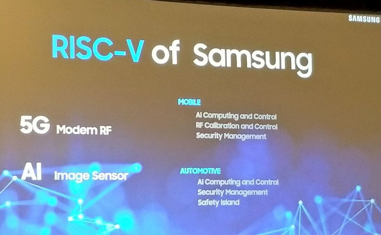 Samsung использует ядро RISC-V в модеме 5G для флагманских смартфонов, которые выйдут в 2020 году