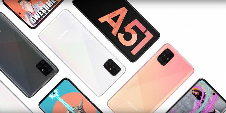 Будущий бестселлер Samsung Galaxy A51 в руках пользователя