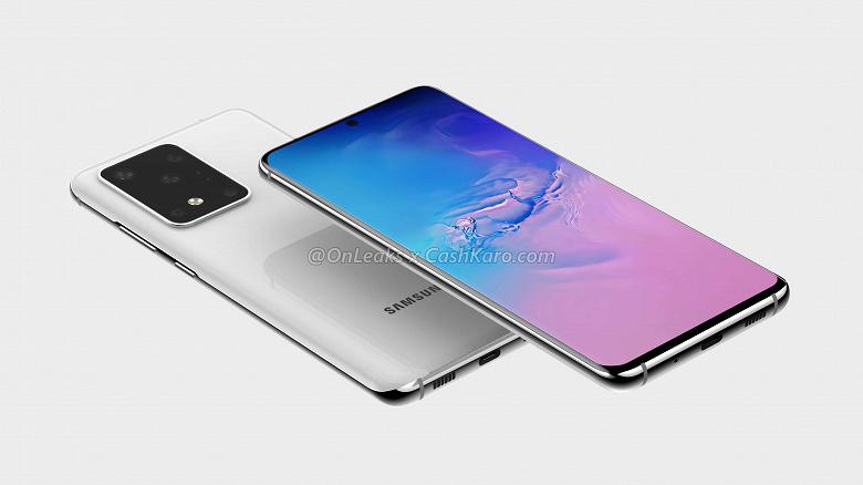 12 «суперпикселей» Samsung Galaxy S11+