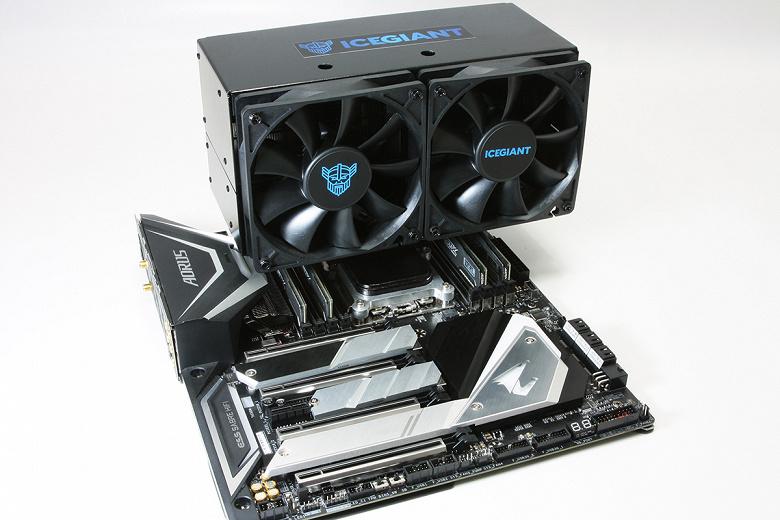 На что способен самый гигантский процессорный кулер с новой технологией