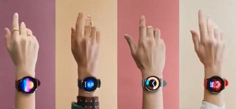 Smart watch Xiaomi Watch Color in different images