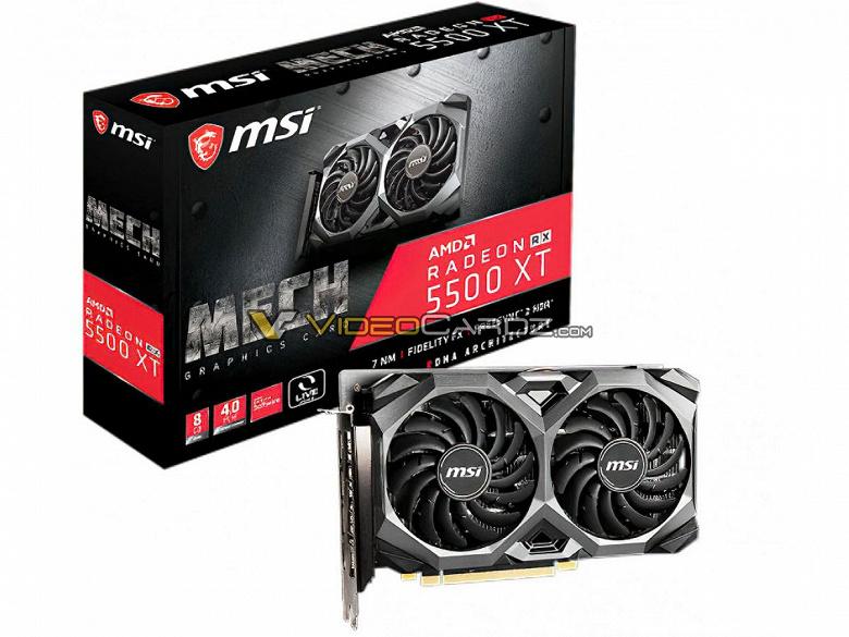 У новой недорогой видеокарты AMD точно будет 8 ГБ памяти. Radeon RX 5500 XT выпустят 12 декабря
