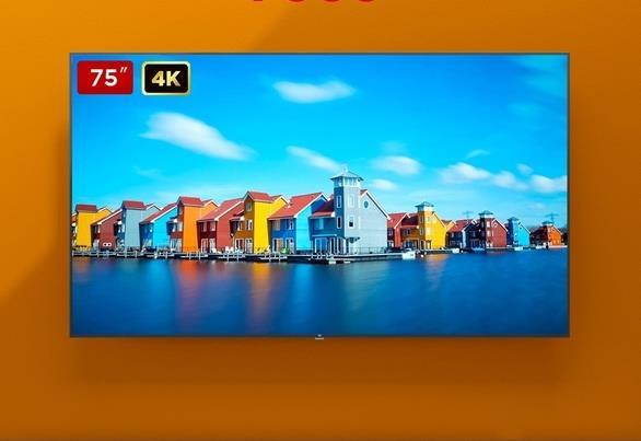 75-дюймовый телевизор Xiaomi Mi TV 4S рекордно подешевел