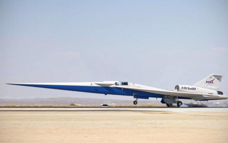 Получено добро на сборку тихого сверхзвукового самолета X-59